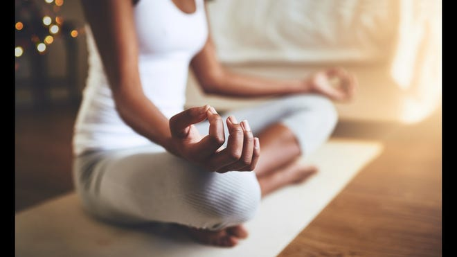Meditation can help calm you mind and center your thoughts.