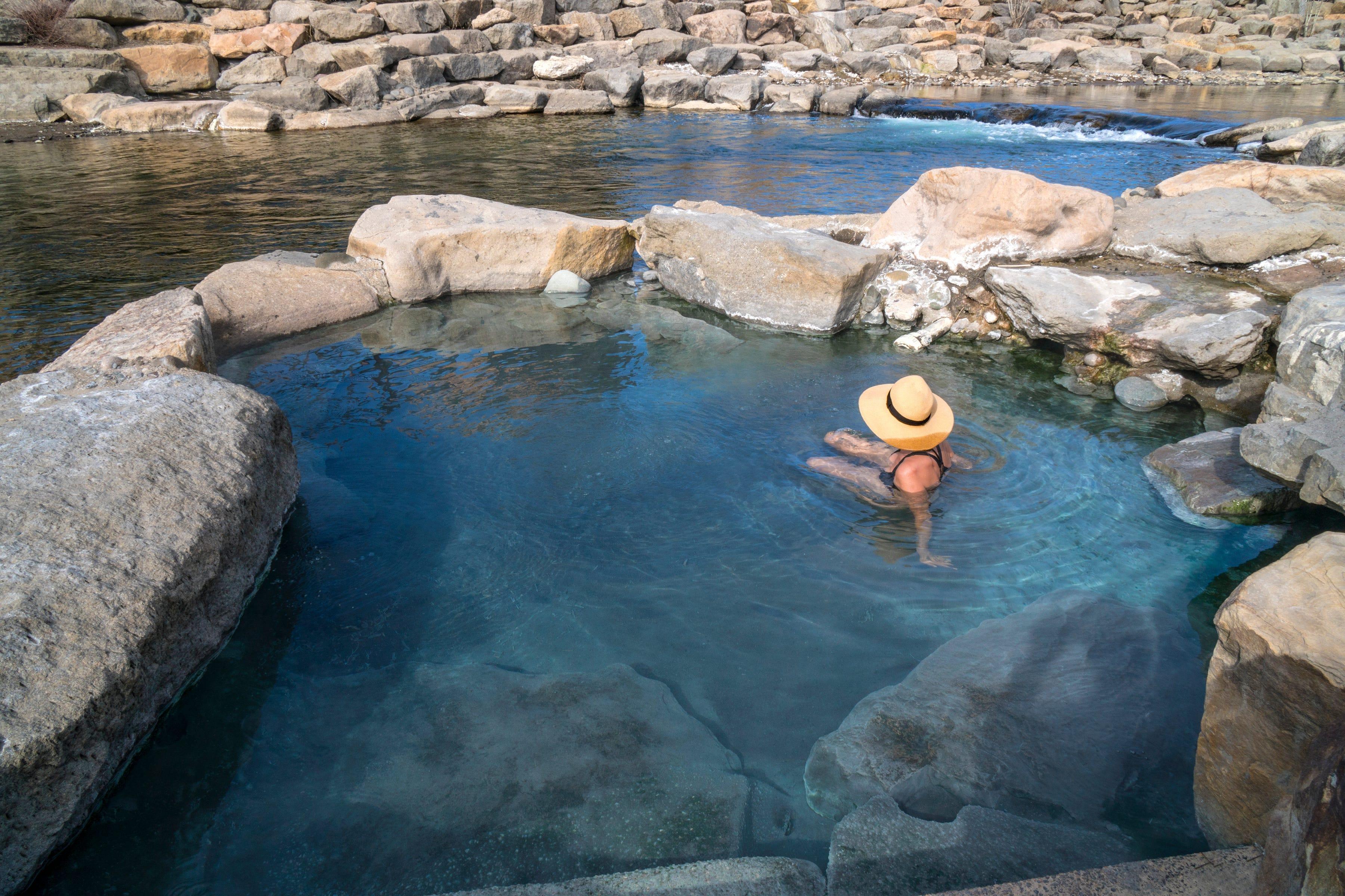 Road trip loop: Soak in Colorado's best hot springs