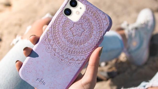 You'd never know that these phone cases are compostable.