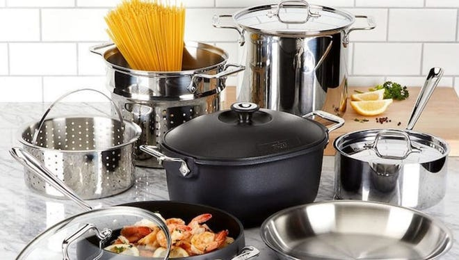 Pots, pans and cookware of all kinds are on sale for All-Clad's VIP Factory Seconds sale.