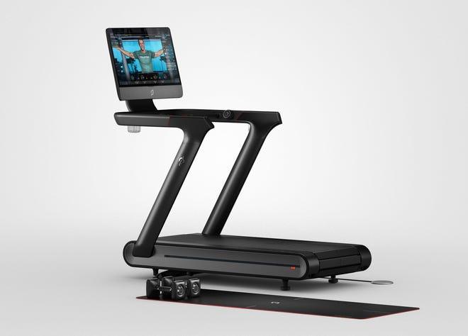 A Peloton Tread+ treadmill.