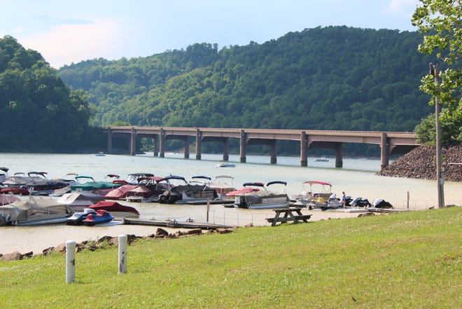 The Youghiogheny River Lake was built in 1944 and is owned and operated by the Army Corps of Engineers. It is home to a boating extravaganza in summer months and ice fishing in winter months.