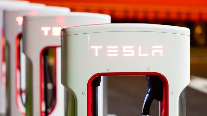 Tesla reported its most recent quarterly results after the closing bell on Monday.