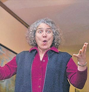 Illustrious storyteller Fanny Crawford will speak Tuesday, March 17,at Smithsburg Library, 66 W. Water St., Smithsburg.