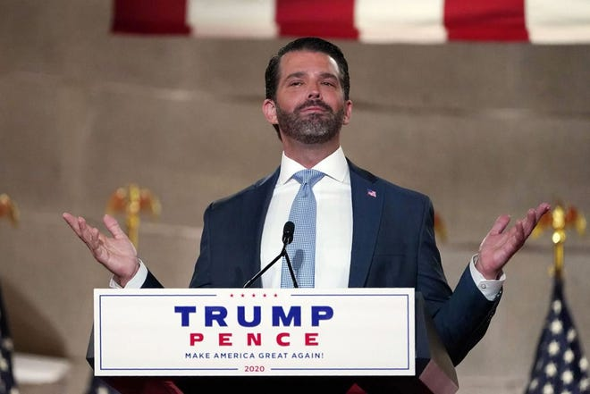 Donald Trump Jr. has submitted an application for a rally in Charlevoix.