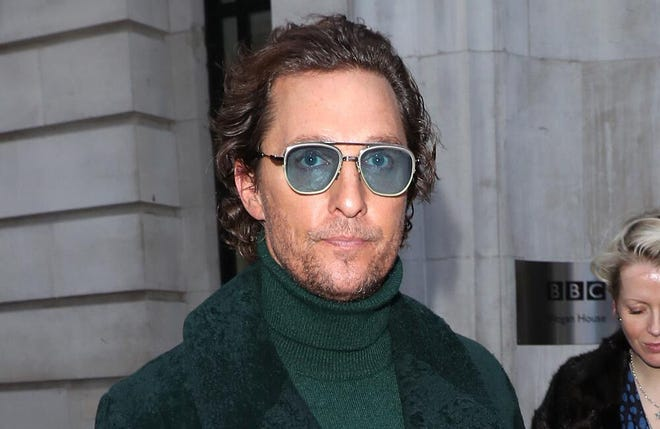 Matthew McConaughey considering political role