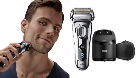 Keep your face nice and clean shaven with this electric shaver.