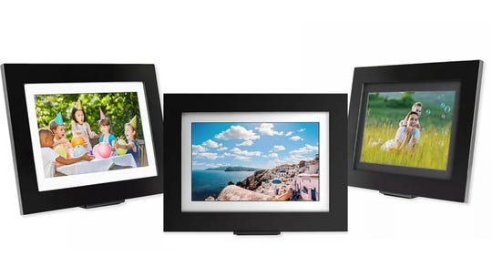 Keep your favorite memories rotating at home with a digital frame.