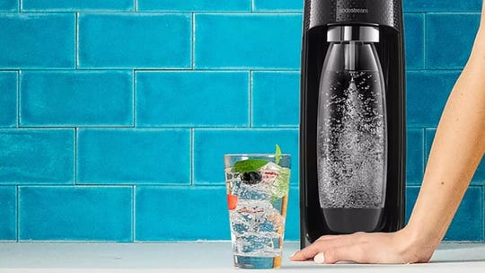 You'll be tempted to make a fizzy drink out of almost everything with this SodaStream.