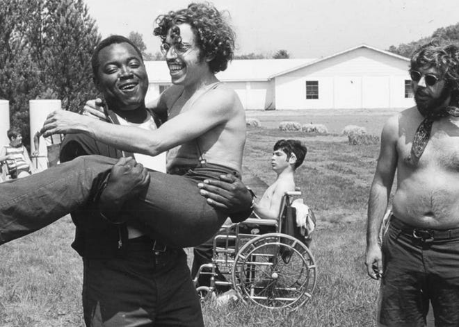 """""""Crip Camp,"""" about a summer camp in the early 1970s for teens with disabilities, is on the program of the 2021 Cultures & Communities Festival."""