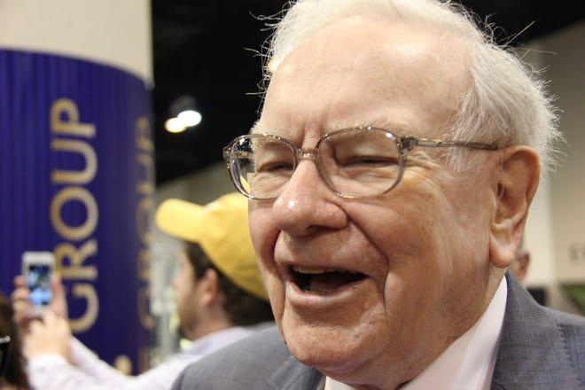 Berkshire Hathaway CEO Warren Buffett.