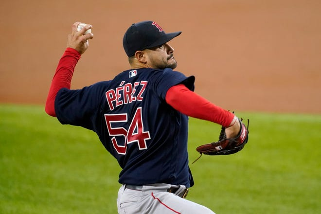 Martin Perez lowered his ERA by 1.01 runs on Thursday.