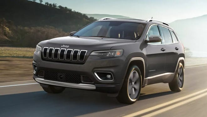 This is a 2021 Jeep Cherokee.