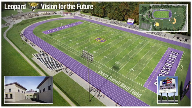 Smithsburg High School's proposed turf field and track