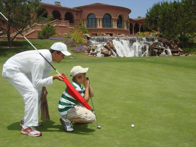 The Fairmont Grand Del Mar near San Diego is five-star including golf.