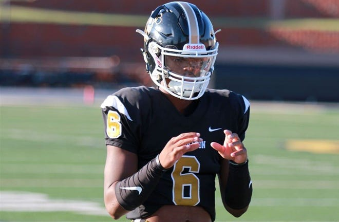 MJ Morris, a four-star Class of 2022 quarterback from Georgia, is ranked a top-100 player nationally by 247Sports.