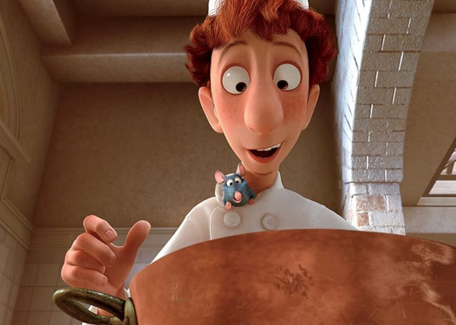 """""""Ratatouille"""" begins at 8 p.m. Friday at Tioga Town Center's amphitheater. It's rated G fun for the family."""