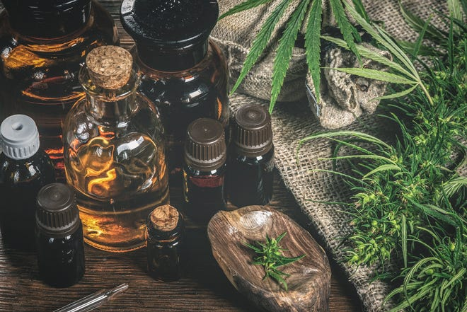 A variety of cannabis products, including flower and oils, is pictured for sale. World-leading cannabis provide Cookies LLC has announced plans to base its state headquarters in DeLand, a project that is expected to represent a $100M investment and eventually create 400 jobs.