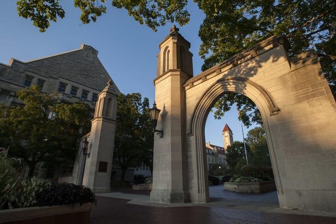 Indiana University's Sample Gates. (File photo)