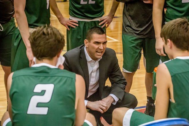Kyle Swafford, shown coaching Monrovia, has been named the new boys' basketball coach at Southridge.