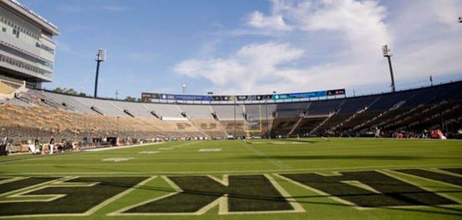 Ross-Ade Stadium before the start of the Purdue vs Vanderbilt game, Saturday, Sept. 7, 2019 at Ross-Ade Stadium in West Lafayette. (Photo: Nikos Frazier   Journal & Courier)