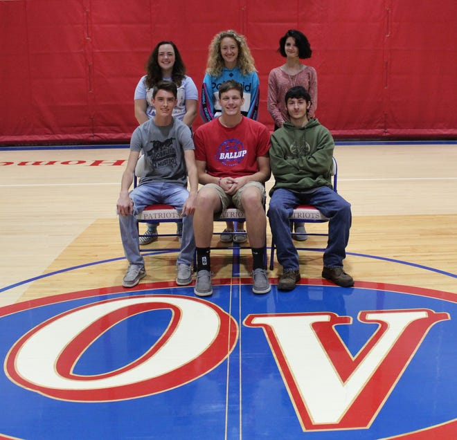 Owen Valley will celebrate homecoming this Friday night, including the crowning of the 2020 fall homecoming royalty. Senior King and Queen nominees include, front row, from left: Mason Elkins, Stephen Atkinson and Tyler Mandeville. Back row: Marjorie Abrell, Mikayla Miller and Jessica Renner. (Submitted / Spencer Evening World)