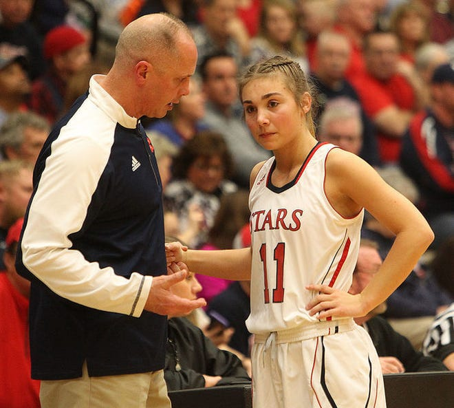 BNL girls basketball coach Jeff Allen and recent graduate Chloe McKnight will be with the Indiana All-Stars this week for the annual summers series against the Kentucky All-Stars. Allen is the head coach and McKnight is a shooting guard for Indiana.