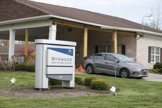 The Indiana Occupational Safety and Health Administration is pursuing a safety compliance inspection atWildwood Health Care nursing home in Indianapolis after thecoronavirus deaths of two employees.(Photo: Michelle Pemberton/IndyStar)