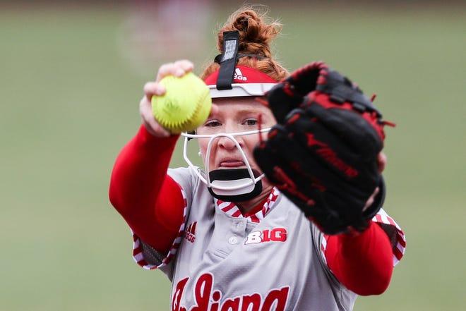 Indiana's Emily Goodin, a senior this year, is expected to return next season (Matt Begala / Indiana Athletics)