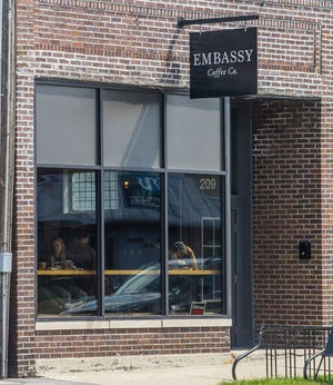 Embassy Coffee in Goshen has been at the center of a mini social media storm after the owners organized an anti-mask rally.