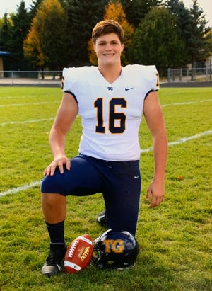Fridley (Minn.) Totino-Grace High's Joe Alt, an offensive tackle in the 2021 recruiting class, verbally committed to Notre Dame on July 6, 2020.