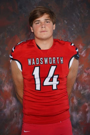 Wadsworth (Ohio) High's Mitchell Evans, a three-star tight end in the 2021 recruiting class, verbally committed to Notre Dame on July 31, 2020.