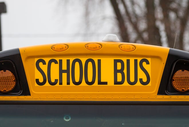 A South Bend Community School Corp. school bus.