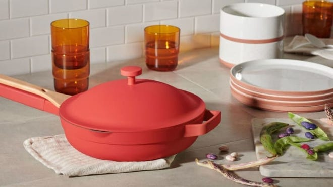 The Our Place Always Pan combines eight different pans in one.