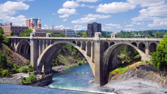 Spokane • Metro area: Spokane-Spokane Valley,