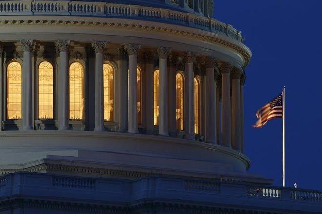 U.S. Capitol dome. (Carolyn Kaster / AP)