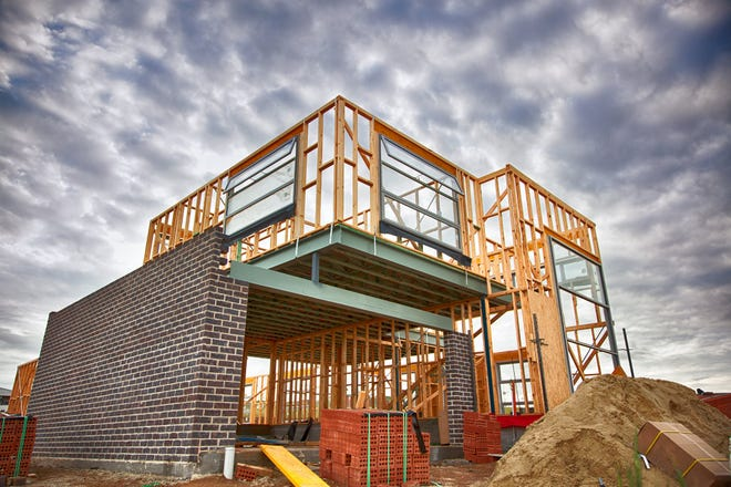 The price of lumber, especially, is increasing new home construction costs.