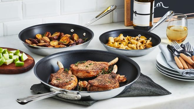 A wide variety of All-Clad's best cookware, including  one of our favorite nonstick pans, is at a deep discount during the VIP Factory Seconds Sale.