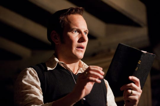 """Patrick Wilson as Ed Warren in New Line Cinema Supernatural Thriller """"Conspiracy,"""" a press release from Warner Bros.  Pictures.  Michael Tackett, Warner Bros.  (courtesy)"""