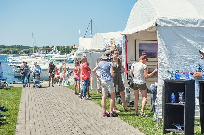 Courtesy photo. The 21st annual Bay Harbor Arts Festival is slated to take place July 23-24.