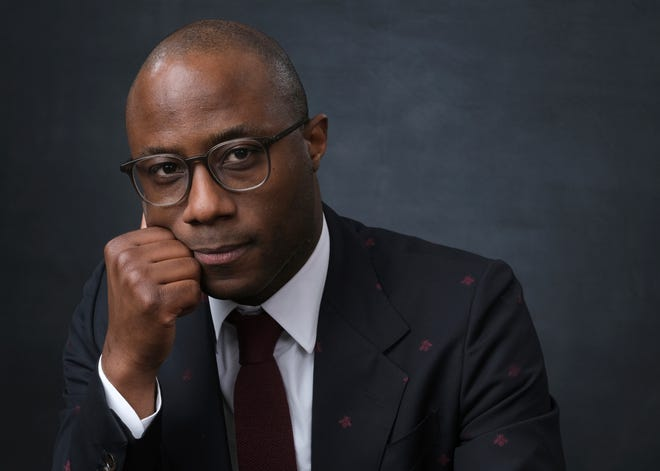 """Filmmaker Barry Jenkins poses for a portrait at the 91st Academy Awards Nominees Luncheon in Beverly Hills, Calif., on Feb. 4, 2019. Jenkins' latest project, the 10-hour limited series """"The Underground Railroad,"""" premieres today on Amazon."""