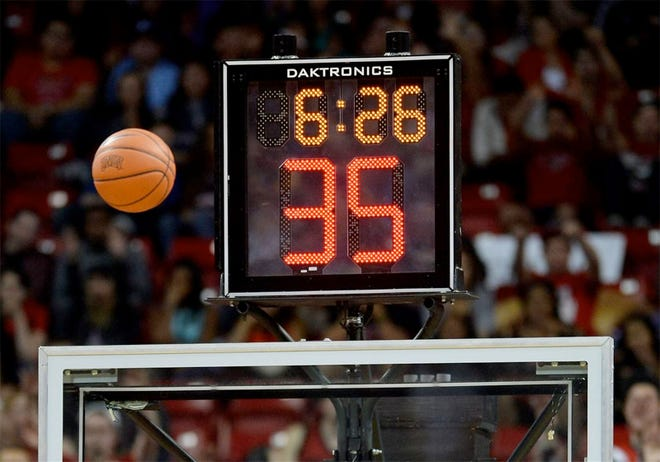 The National Federation of State High School Associations recently approved the option of adding the shot clock to high school basketball.