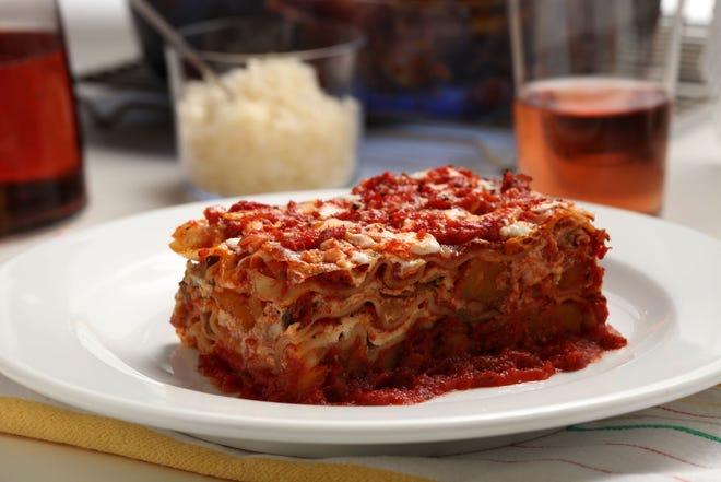 Lasagna. TNS photo