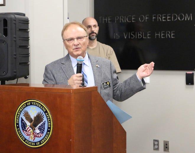 Greg Whitlock, secretary of the SD Department of Veterans Affairs Secretary .
