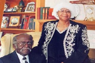 Supt. Robert E Herron Sr And Mrs Tennie Herron