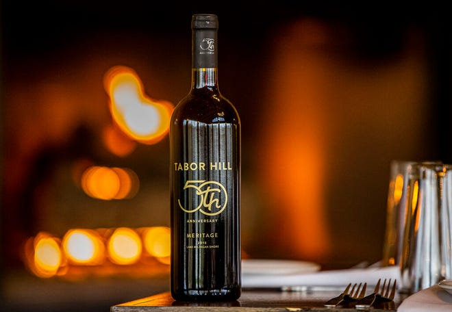 A limited-edition 2018 meritage red blend wine is available for the 50th anniversary of Tabor Hill Winery and Restaurant in Buchanan.