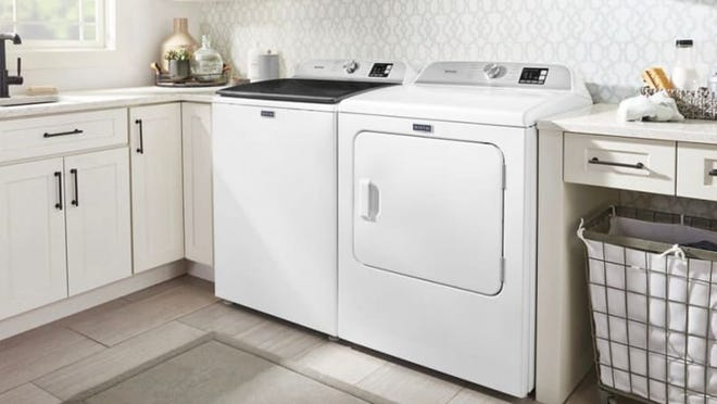 Maytag offers a variety of high quality washing machines, dryers and other appliances.