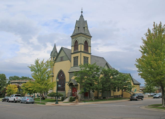 The Crooked Tree Arts Center is seen in downtown Petoskey. (file photo)