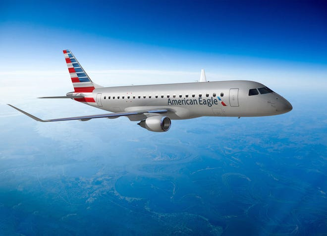American Airlines has announced it will use the Embraer ERJ-175 regional passenger jet on nonstop flights from Cincinnati/Northern Kentucky International Airport to Austin, Texas.