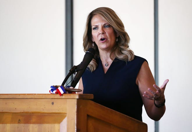 Arizona Republican Party Chair Kelli Ward blames 'leftists' for Afghanistan. But there is just as much blame to be had for attacks that occurred under Trump and other Republicans' watch.